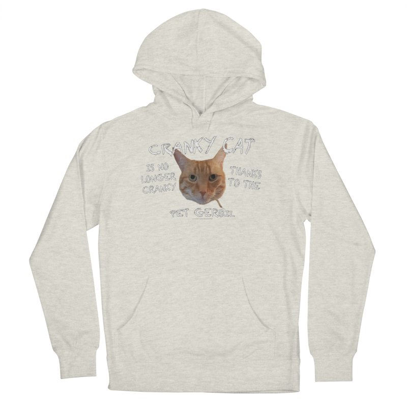Cranky Cat Shirts n More Men's French Terry Pullover Hoody by Leading Artist Shop