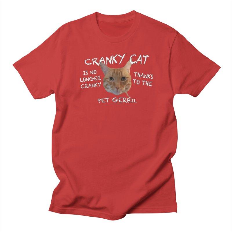 Cranky Cat Shirts n More Women's Regular Unisex T-Shirt by Leading Artist Shop