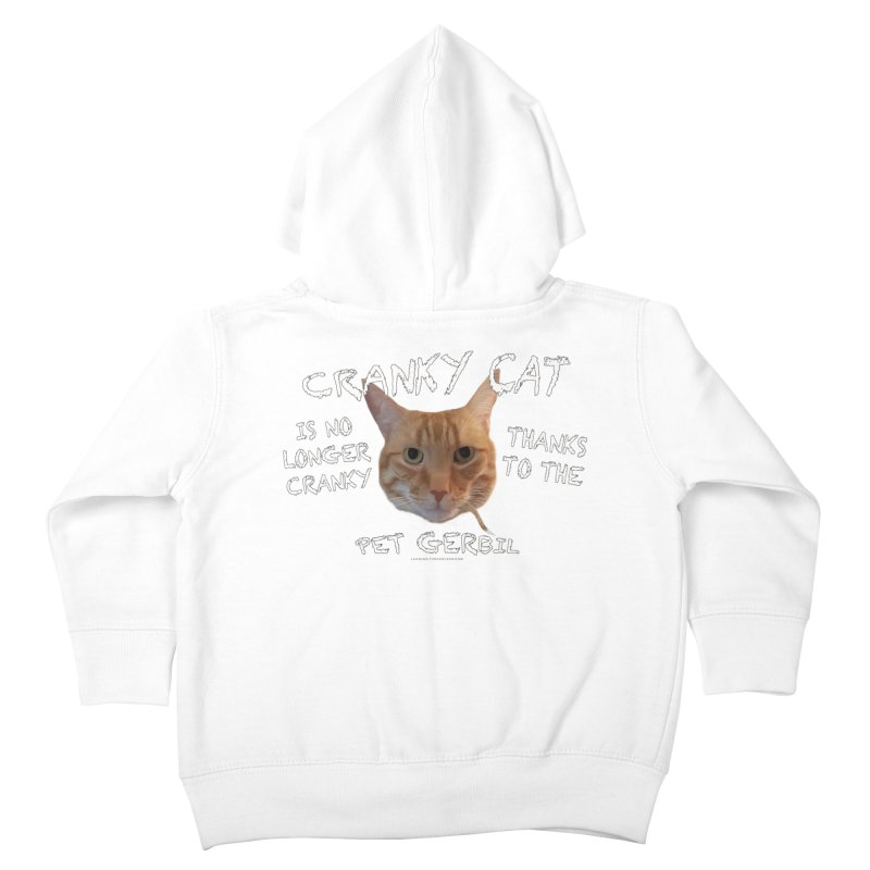 Cranky Cat Shirts n More Kids Toddler Zip-Up Hoody by Leading Artist Shop