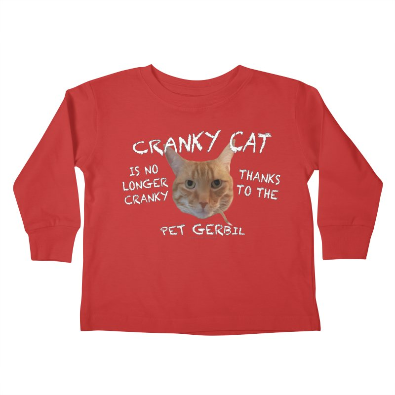 Cranky Cat Shirts n More Kids Toddler Longsleeve T-Shirt by Leading Artist Shop