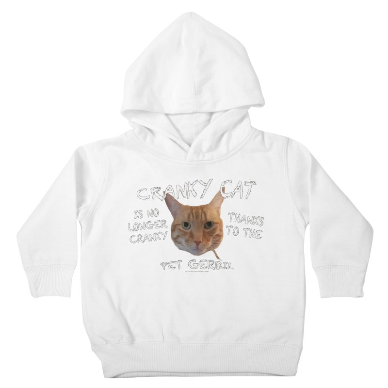 Cranky Cat Shirts n More Kids Toddler Pullover Hoody by Leading Artist Shop