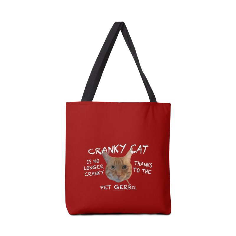 Cranky Cat Shirts n More Accessories Tote Bag Bag by Leading Artist Shop