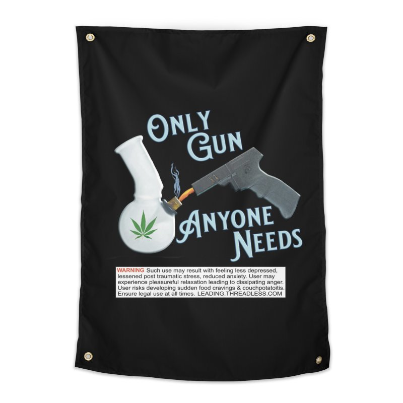 Weed Gun Shirts - All I Need Home Tapestry by Leading Artist Shop