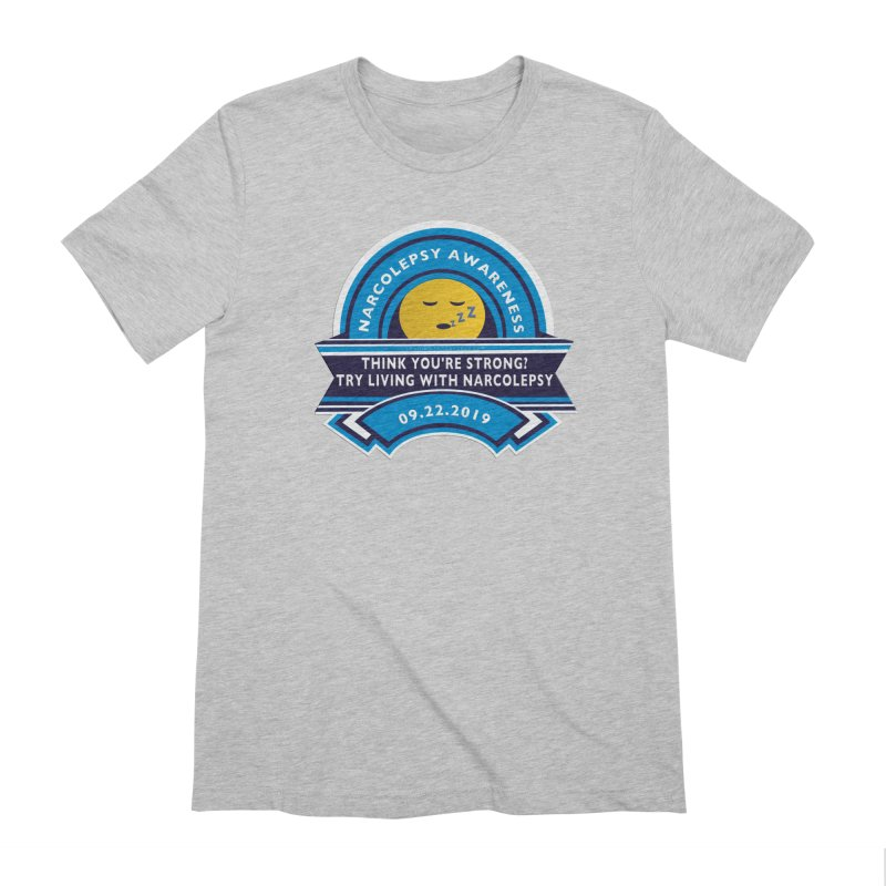 Narcolepsy Awareness Day Shirts n More Men's Extra Soft T-Shirt by Leading Artist Shop