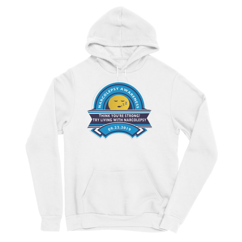 Narcolepsy Awareness Day Shirts n More Men's Sponge Fleece Pullover Hoody by Leading Artist Shop