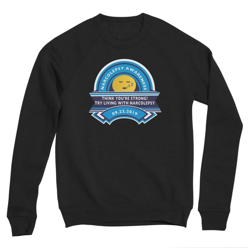 Narcolepsy Awareness Day Shirts n More Men's Sponge Fleece Sweatshirt by Leading Artist Shop