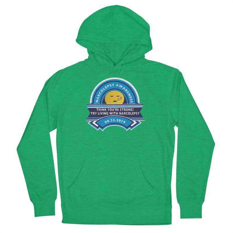 Narcolepsy Awareness Day Shirts n More Women's French Terry Pullover Hoody by Leading Artist Shop