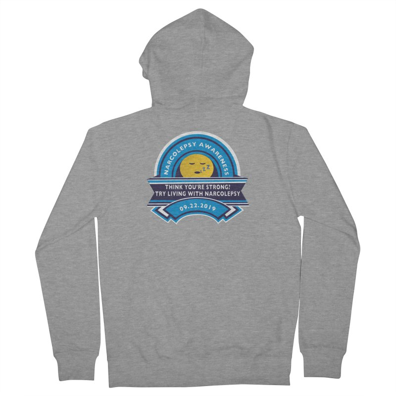 Narcolepsy Awareness Day Shirts n More Men's French Terry Zip-Up Hoody by Leading Artist Shop