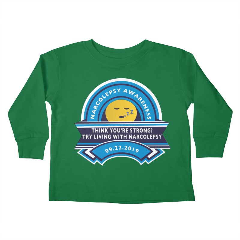Narcolepsy Awareness Day Shirts n More Kids Toddler Longsleeve T-Shirt by Leading Artist Shop