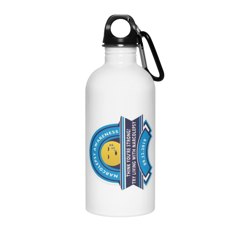 Narcolepsy Awareness Day Shirts n More Accessories Water Bottle by Leading Artist Shop