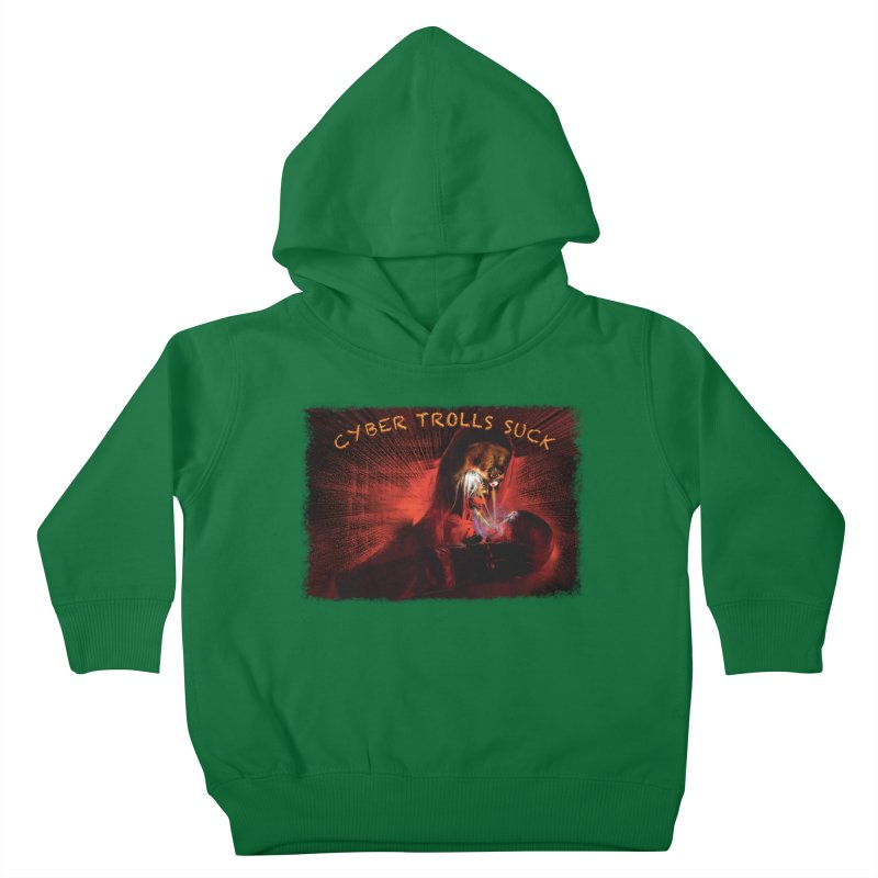 Cyber Trolls Suck - Shirts n Products Kids Toddler Pullover Hoody by Leading Artist Shop