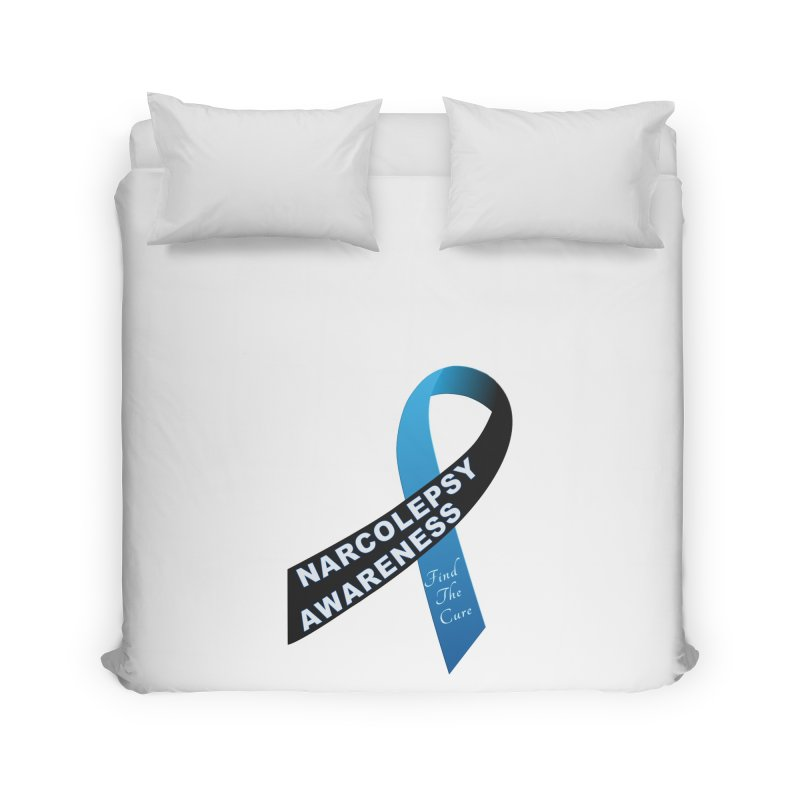 Narcolepsy Find The Cure Shirts Home Duvet by Leading Artist Shop