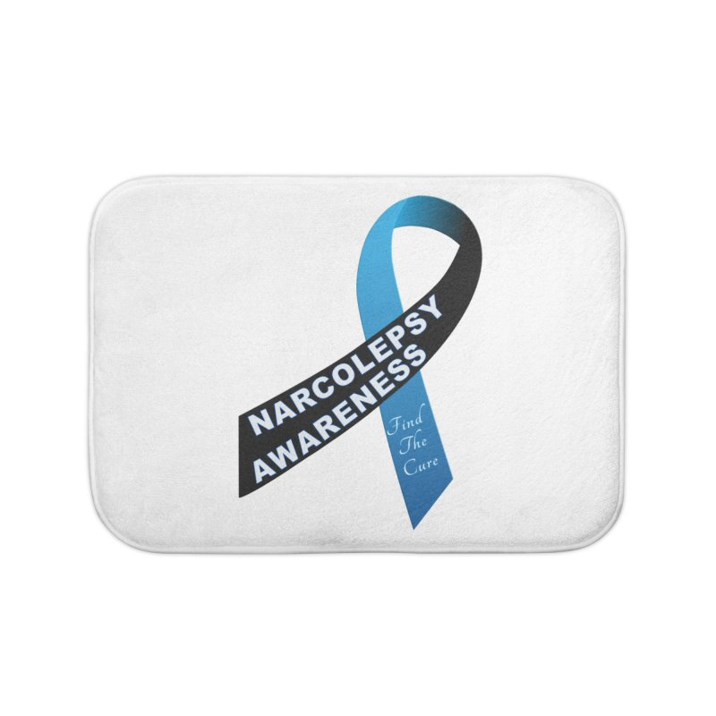Narcolepsy Find The Cure Shirts Home Bath Mat by Leading Artist Shop