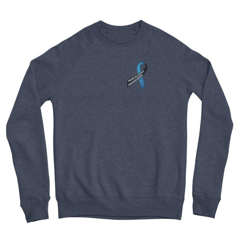 Narcolepsy Find The Cure Shirts Men's Sponge Fleece Sweatshirt by Leading Artist Shop