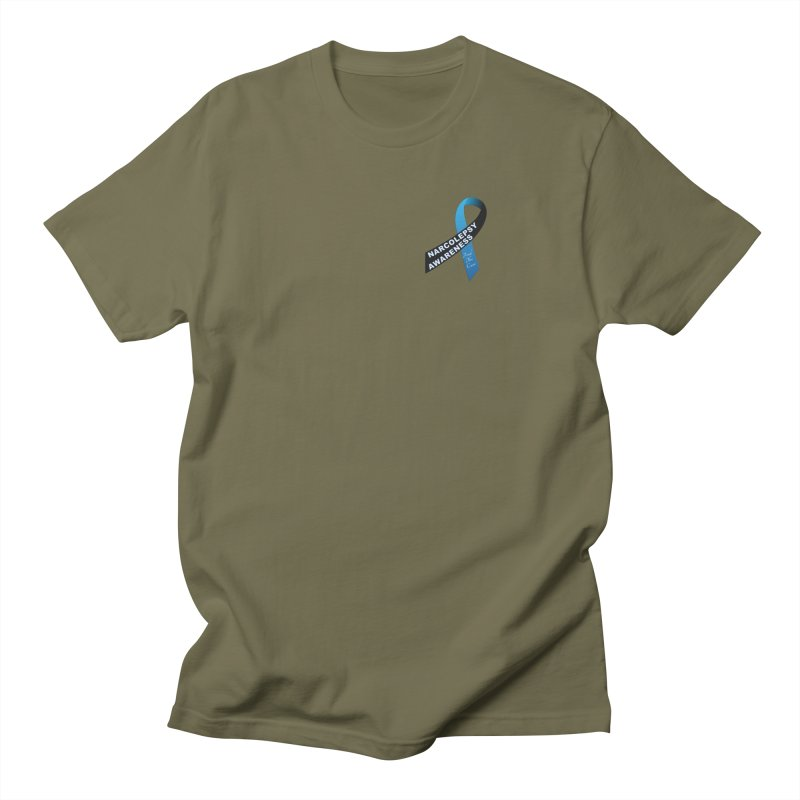 Narcolepsy Find The Cure Shirts Men's Regular T-Shirt by Leading Artist Shop