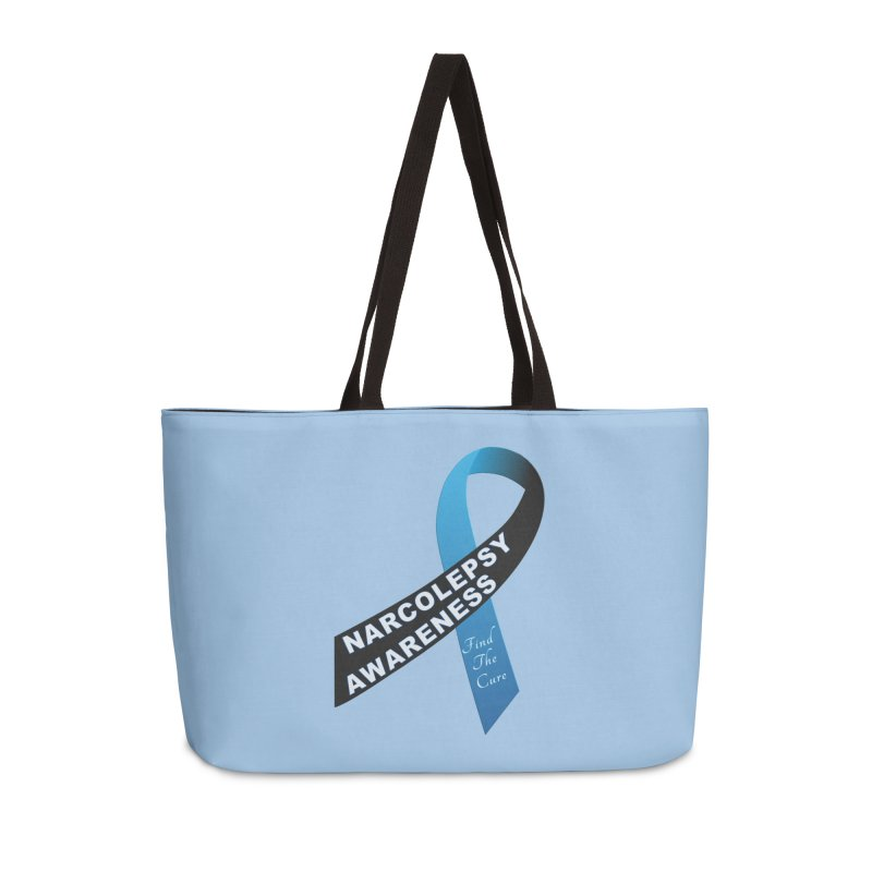 Narcolepsy Find The Cure Shirts Accessories Weekender Bag Bag by Leading Artist Shop