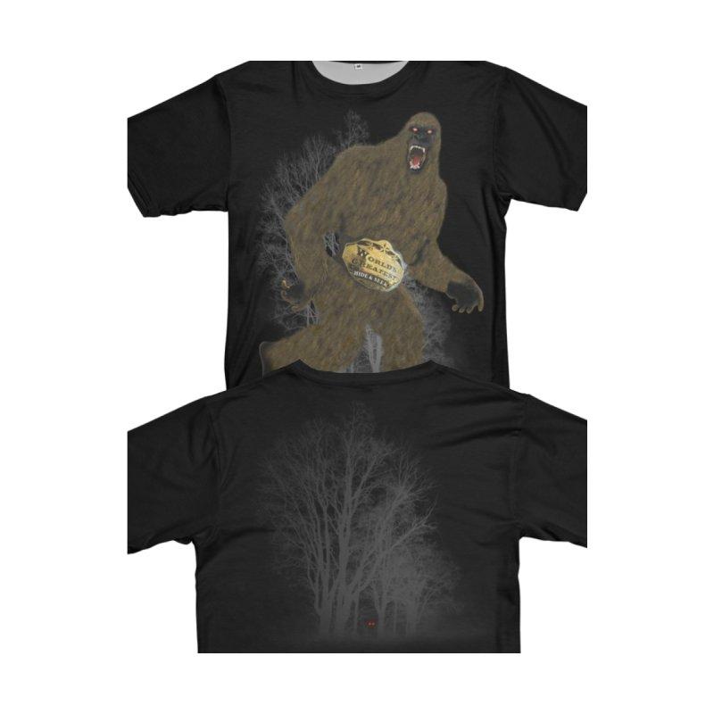 Big Foot Hide Seek Shirt by Leading Artist Shop