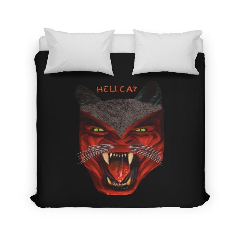 HellCat Shirts n More Home Duvet by Leading Artist Shop