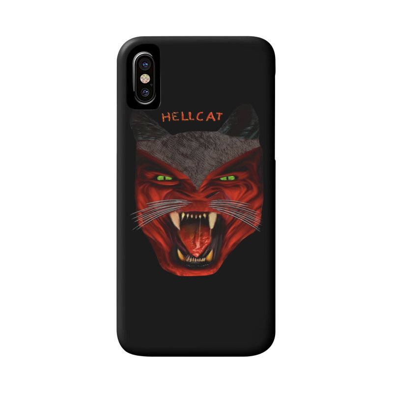 HellCat Shirts n More Accessories Phone Case by Leading Artist Shop