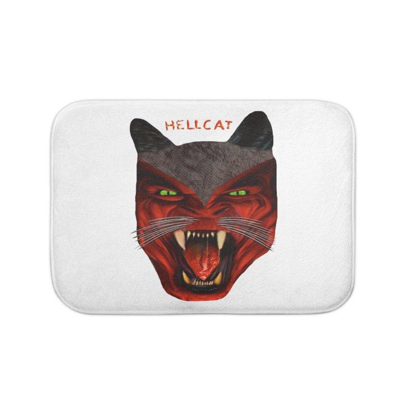 HellCat Shirts n More Home Bath Mat by Leading Artist Shop