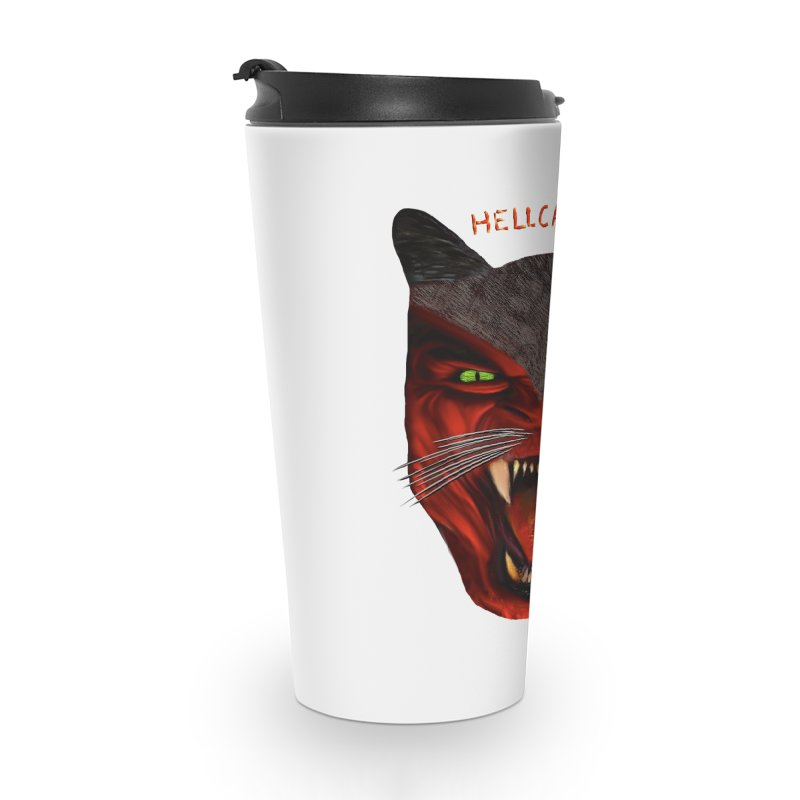 HellCat Shirts n More Accessories Travel Mug by Leading Artist Shop
