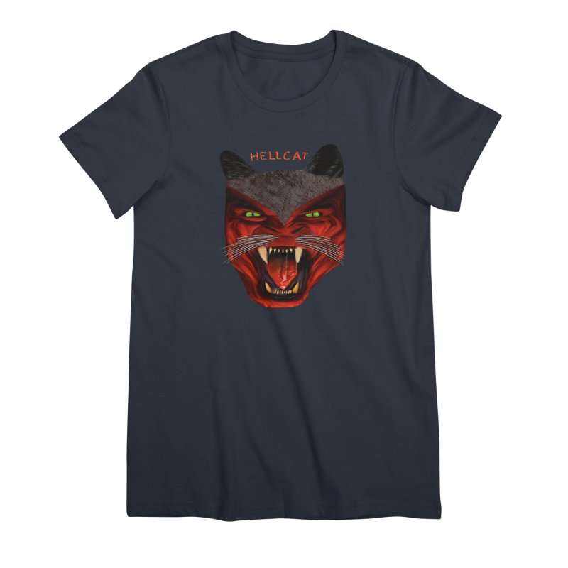 HellCat Shirts n More Women's Premium T-Shirt by Leading Artist Shop