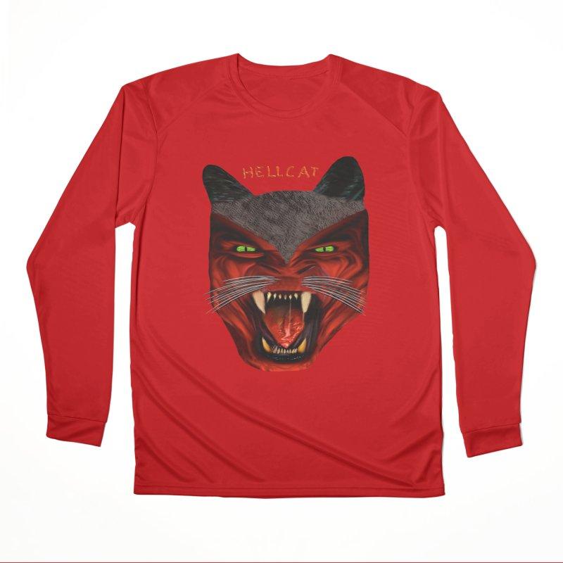 HellCat Shirts n More Men's Performance Longsleeve T-Shirt by Leading Artist Shop