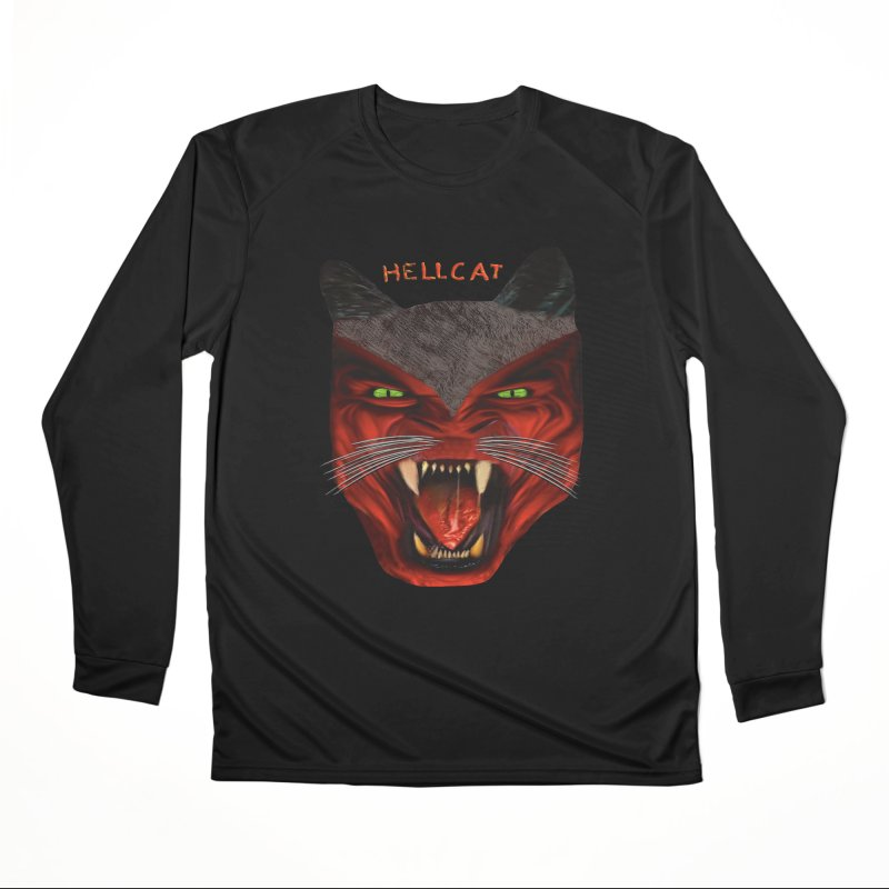 HellCat Shirts n More Women's Performance Unisex Longsleeve T-Shirt by Leading Artist Shop
