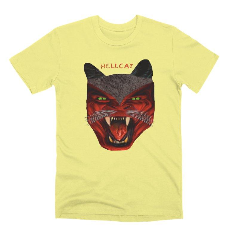 HellCat Shirts n More Men's Premium T-Shirt by Leading Artist Shop