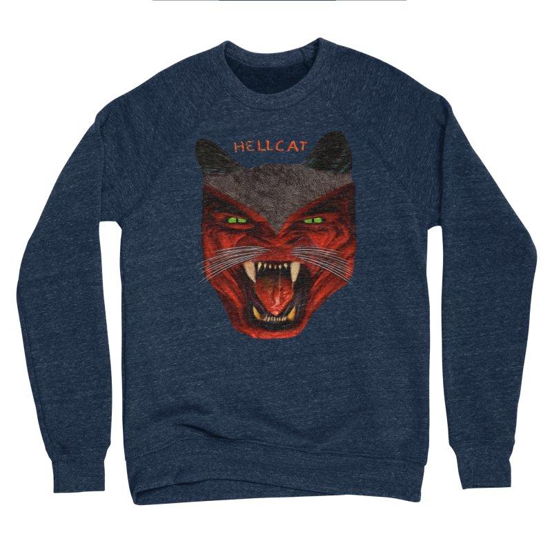 HellCat Shirts n More Men's Sponge Fleece Sweatshirt by Leading Artist Shop