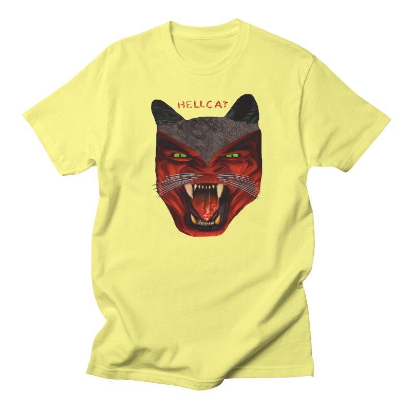 HellCat Shirts n More Men's Regular T-Shirt by Leading Artist Shop