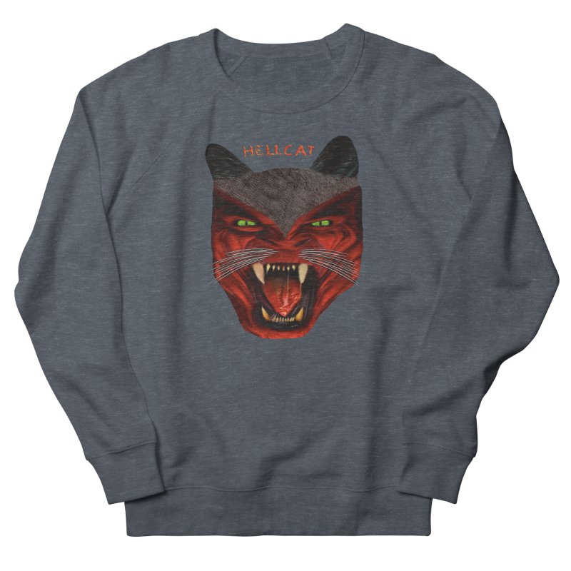HellCat Shirts n More Men's French Terry Sweatshirt by Leading Artist Shop