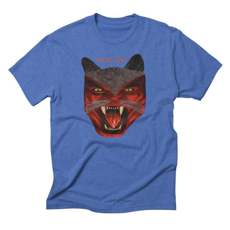 HellCat Shirts n More Men's Triblend T-Shirt by Leading Artist Shop