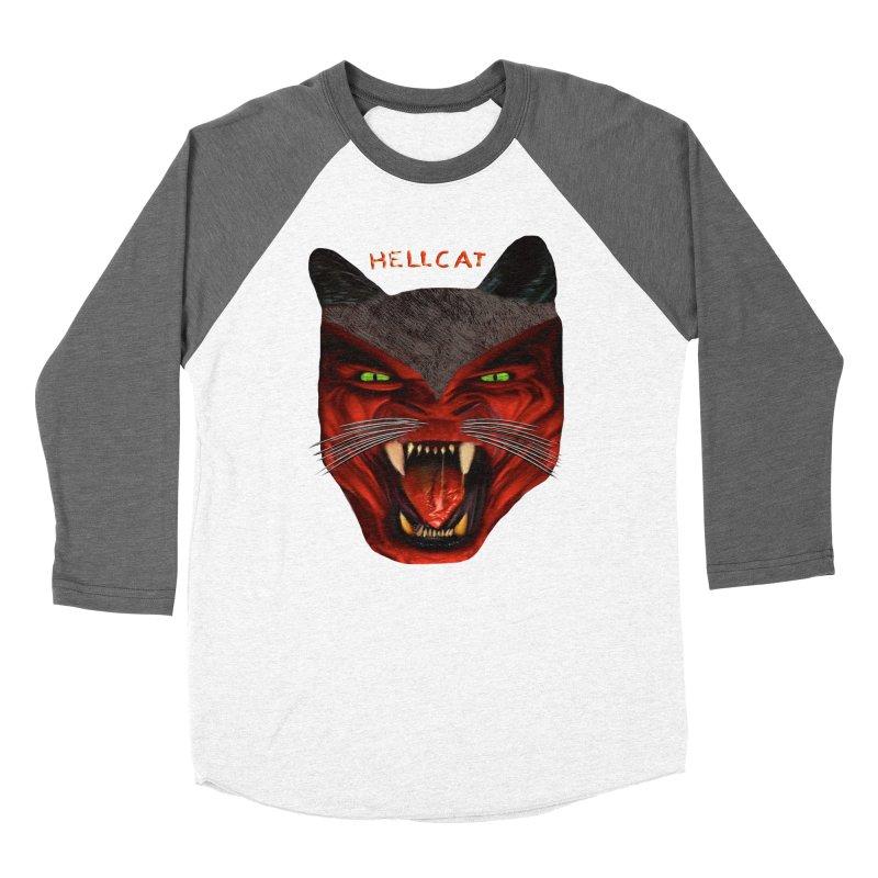 HellCat Shirts n More Women's Baseball Triblend Longsleeve T-Shirt by Leading Artist Shop