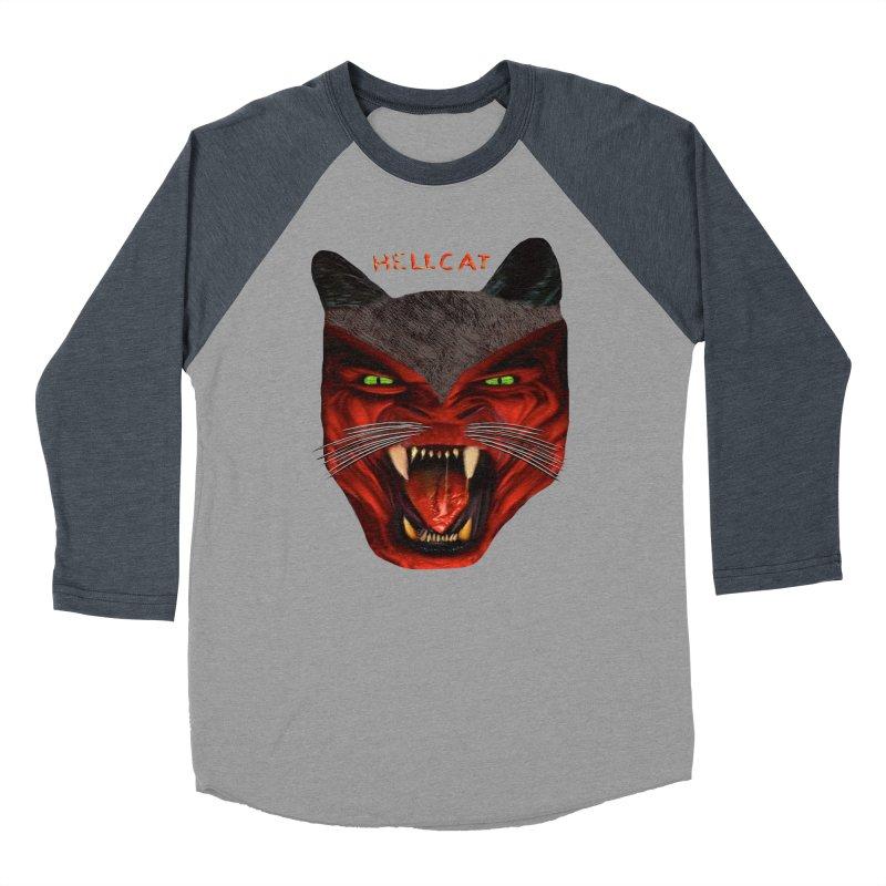 HellCat Shirts n More Men's Baseball Triblend Longsleeve T-Shirt by Leading Artist Shop