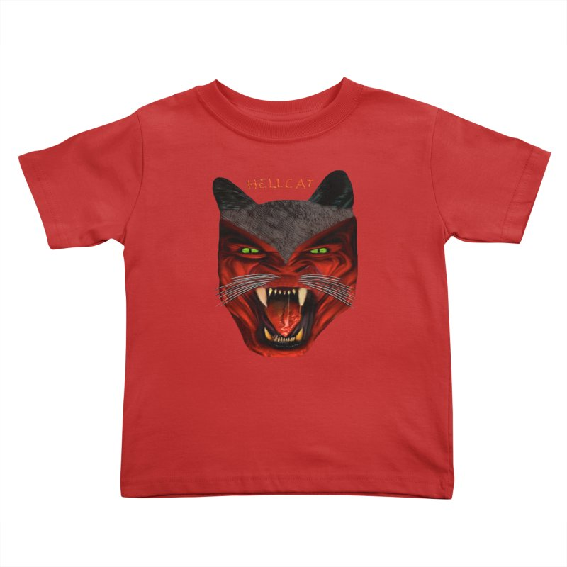 HellCat Shirts n More Kids Toddler T-Shirt by Leading Artist Shop