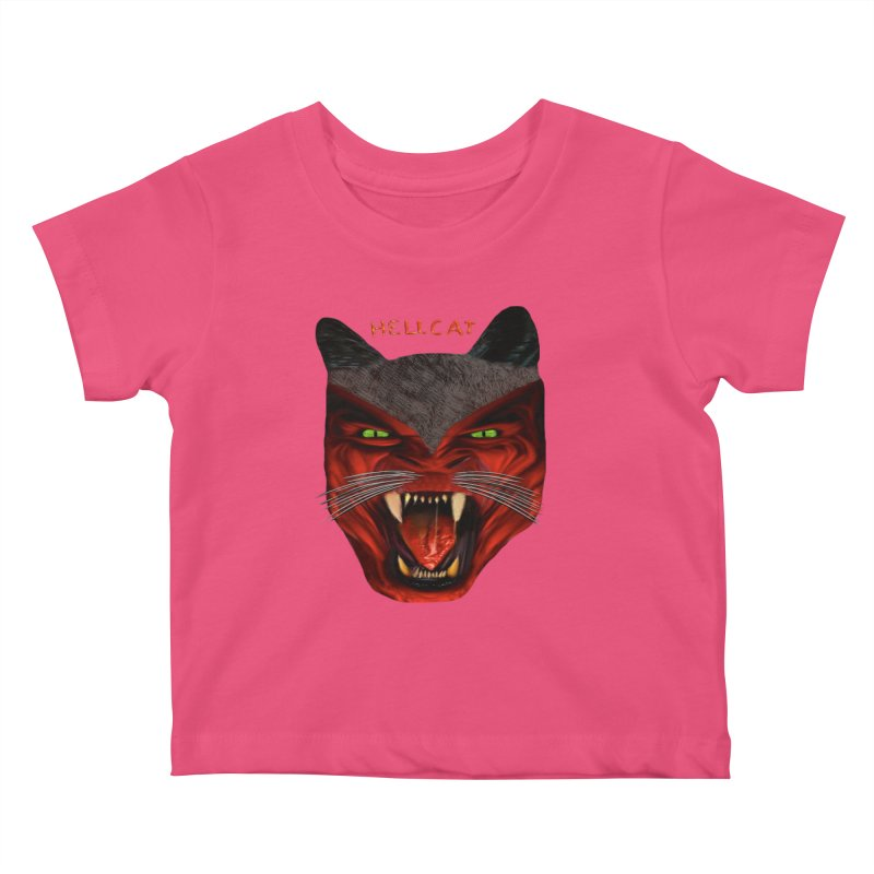 HellCat Shirts n More Kids Baby T-Shirt by Leading Artist Shop