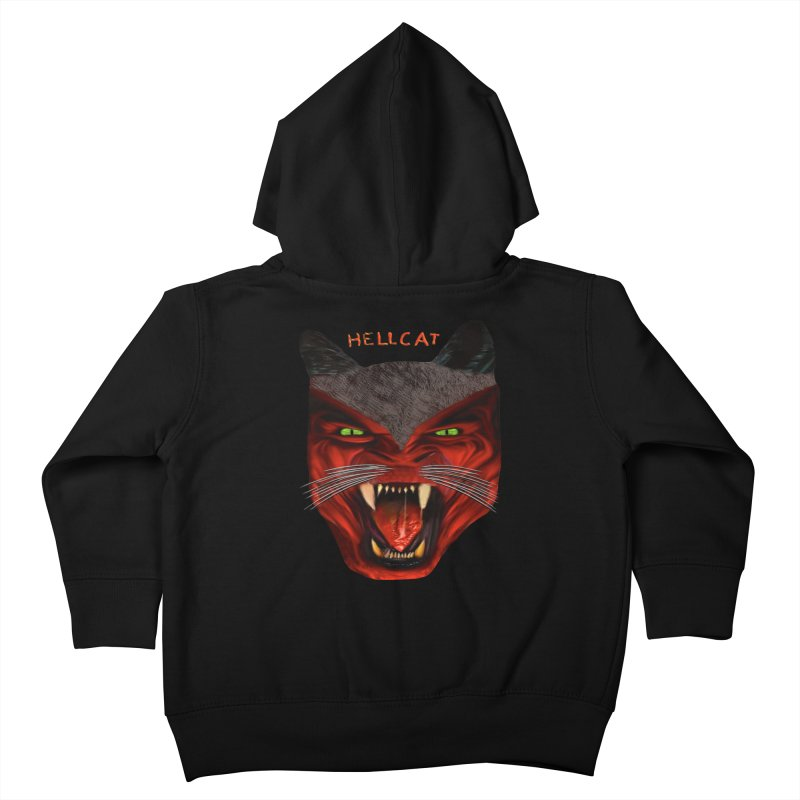 HellCat Shirts n More Kids Toddler Zip-Up Hoody by Leading Artist Shop