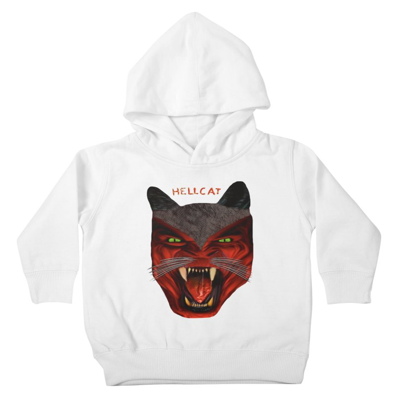 HellCat Shirts n More Kids Toddler Pullover Hoody by Leading Artist Shop
