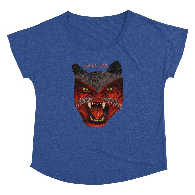 HellCat Shirts n More Women's Dolman Scoop Neck by Leading Artist Shop
