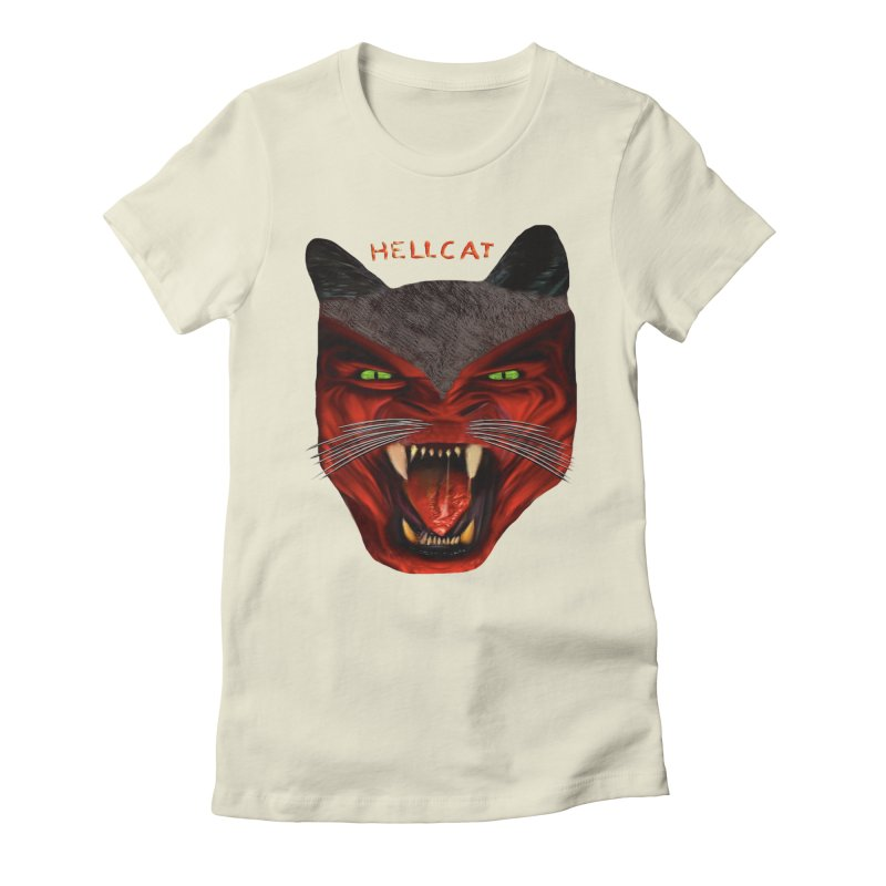 HellCat Shirts n More Women's Fitted T-Shirt by Leading Artist Shop
