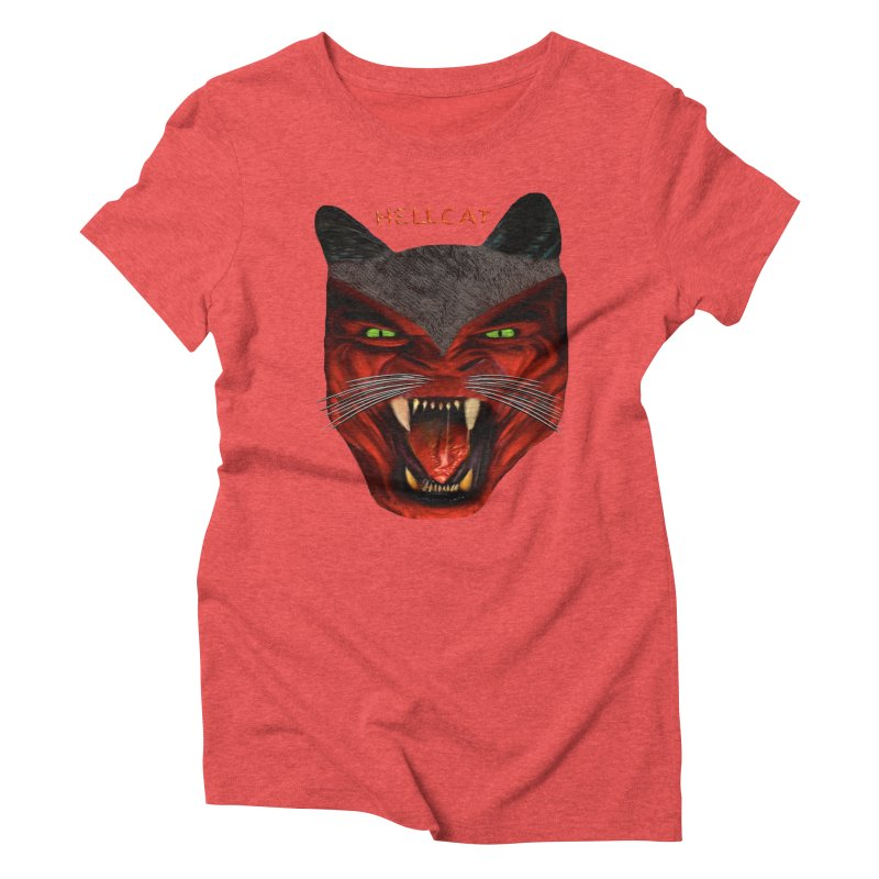 HellCat Shirts n More Women's Triblend T-Shirt by Leading Artist Shop