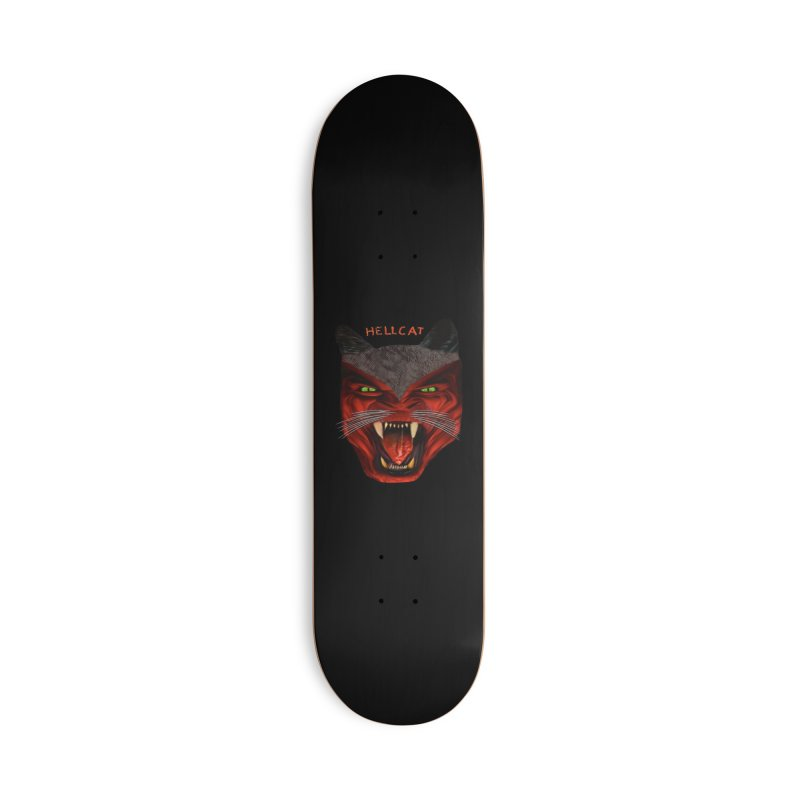 HellCat Shirts n More Accessories Deck Only Skateboard by Leading Artist Shop