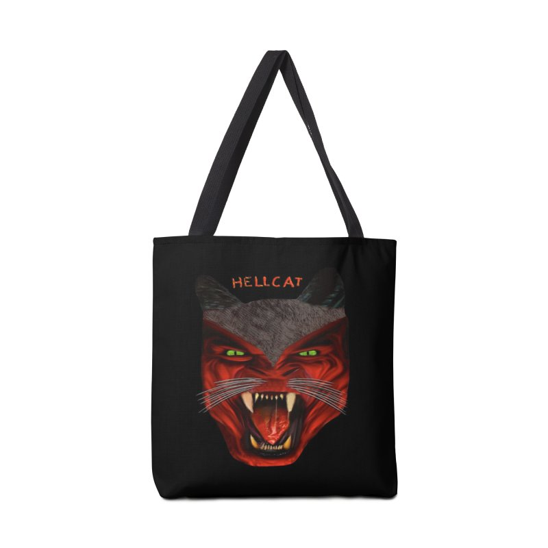 HellCat Shirts n More Accessories Tote Bag Bag by Leading Artist Shop