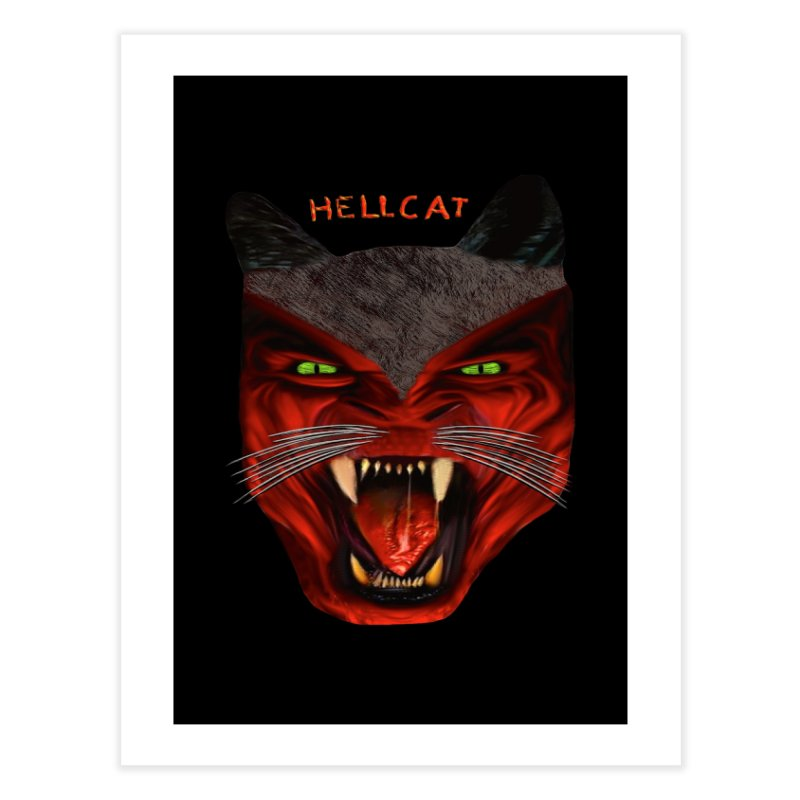 HellCat Shirts n More Home Fine Art Print by Leading Artist Shop