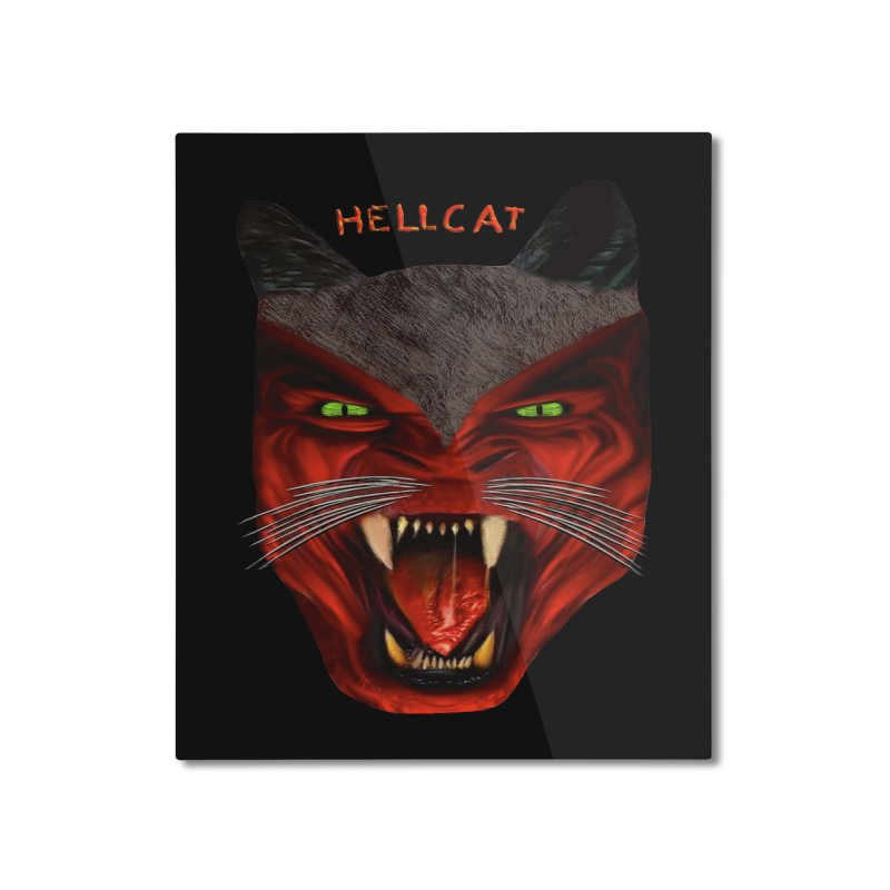 HellCat Shirts n More Home Mounted Aluminum Print by Leading Artist Shop
