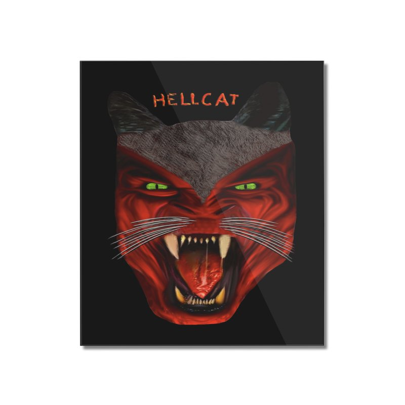 HellCat Shirts n More Home Mounted Acrylic Print by Leading Artist Shop