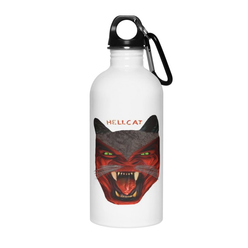 HellCat Shirts n More Accessories Water Bottle by Leading Artist Shop