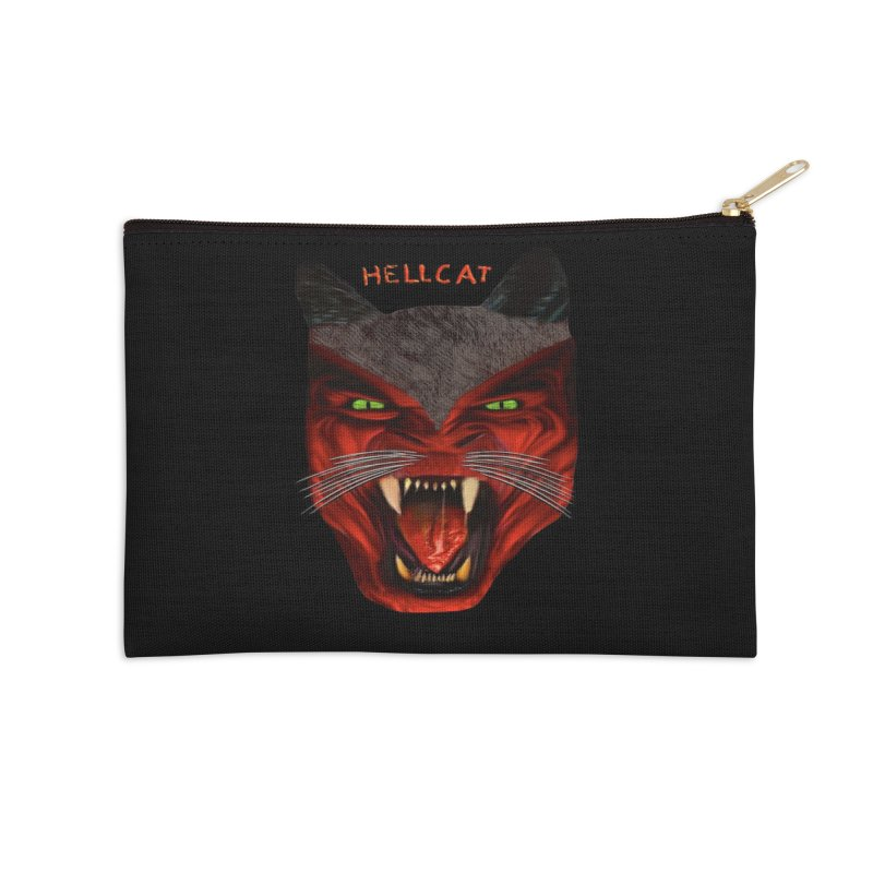 HellCat Shirts n More Accessories Zip Pouch by Leading Artist Shop