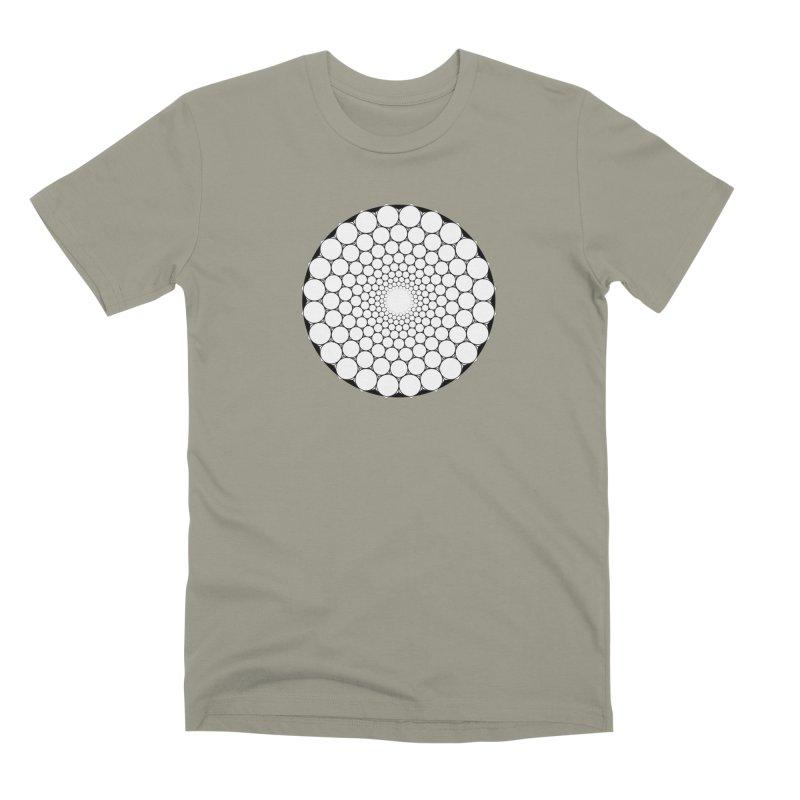 Optical Illusion Sacred Geometry Shirts Men's Premium T-Shirt by Leading Artist Shop